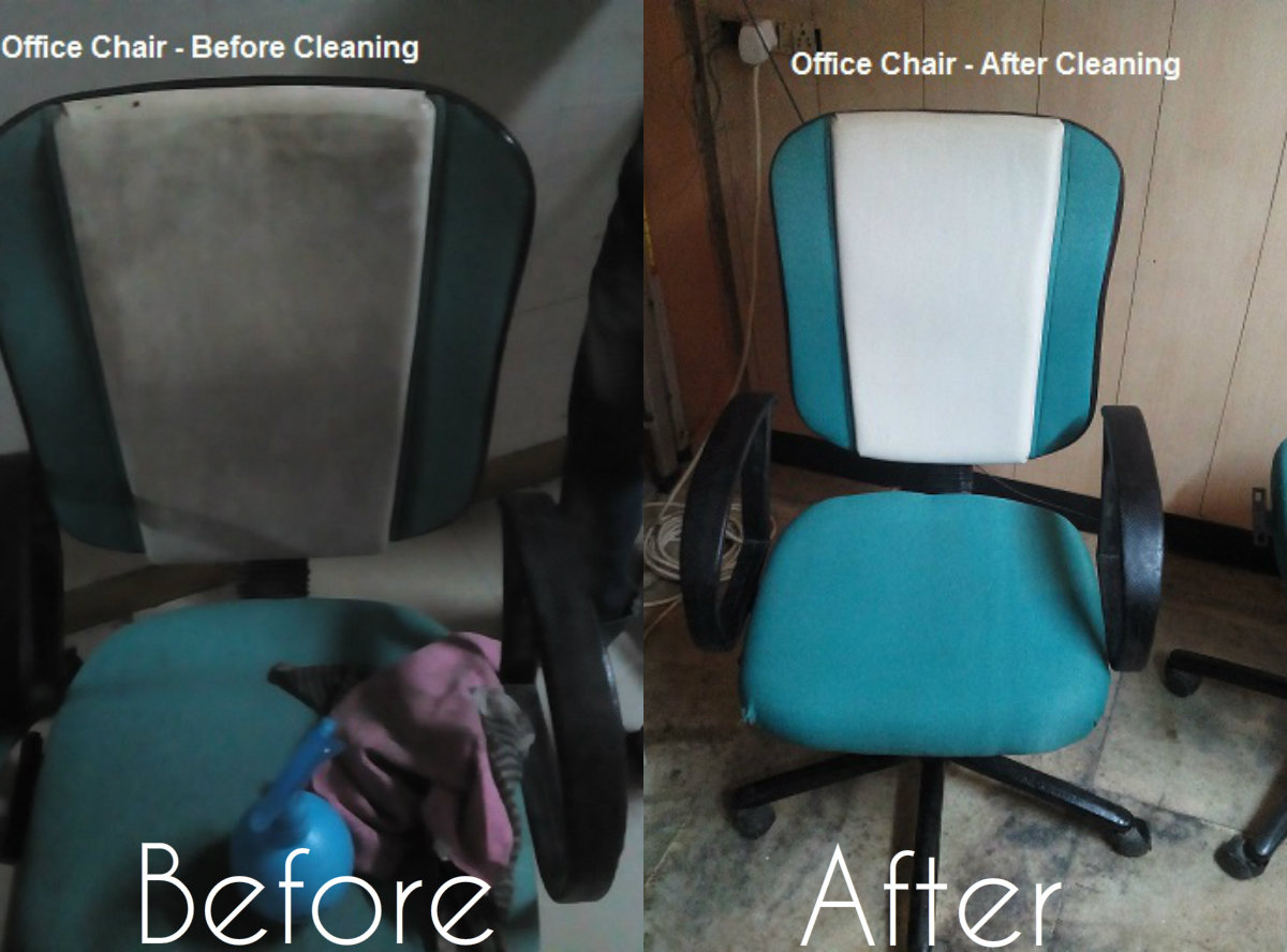 Office Chair - Before+After