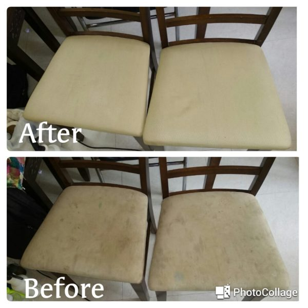 Chairs Before & After