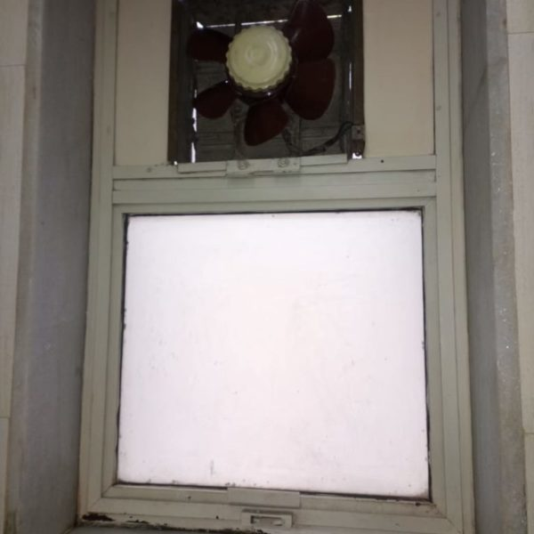 Washroom Window After